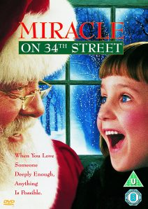 Christmas film Miracle on 34th Street the remake