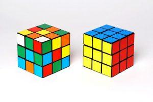 copywriting cost shown as rubix cubes