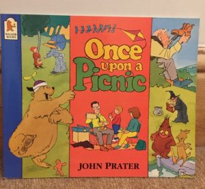 Front cover of Once Upon A Picnic by John Prater