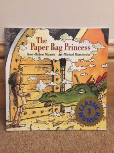Front cover of The Paper Bag Princess by Robert Munsch and Michael Martchenko